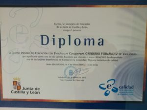 Premio Calidad Gregorio Fernández