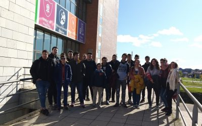 Visita al CPD del parque tecnológico de la Universidad de Valladolid